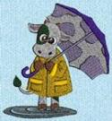 umbrella cow