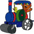 121734 rolling tractor bear